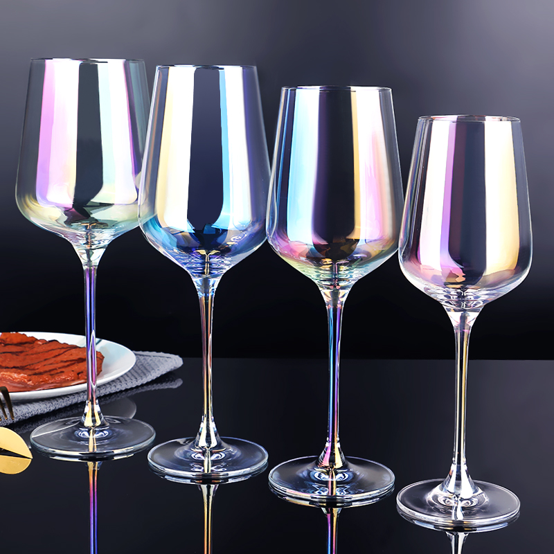 02 Colored Wine Glasses Wholesale
