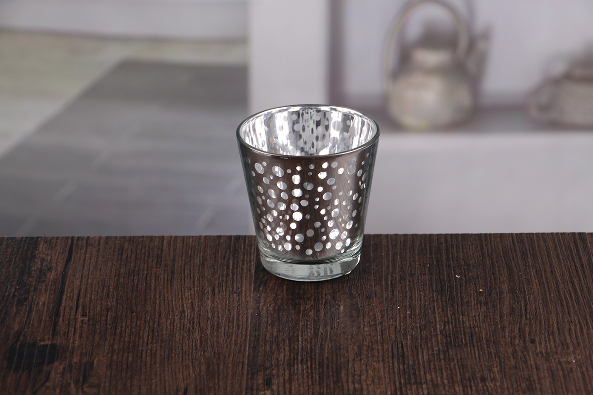 Heat Resistant Glass Candle Holder