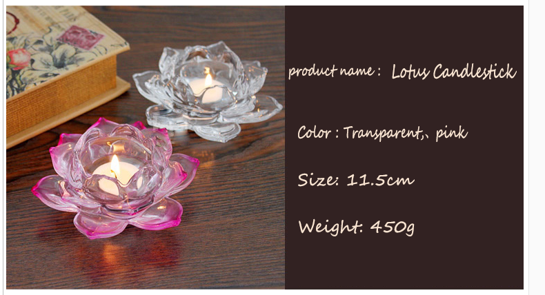 clear glass tealight candle holders