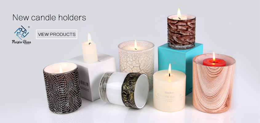 new white tealight candle holders