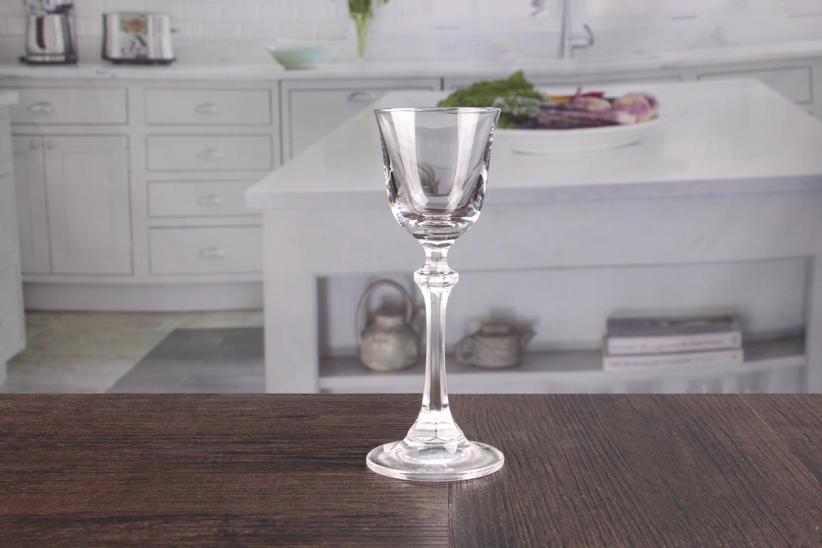 2oz Unique Octagon Stem Champagne Glasses Set Suppliers