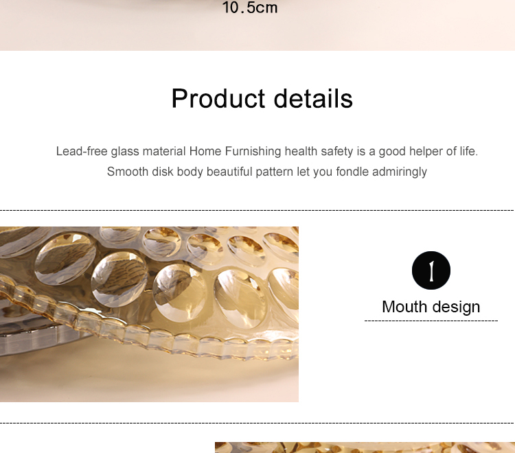electroplated glass plate