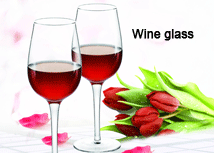 china wine glass supplier
