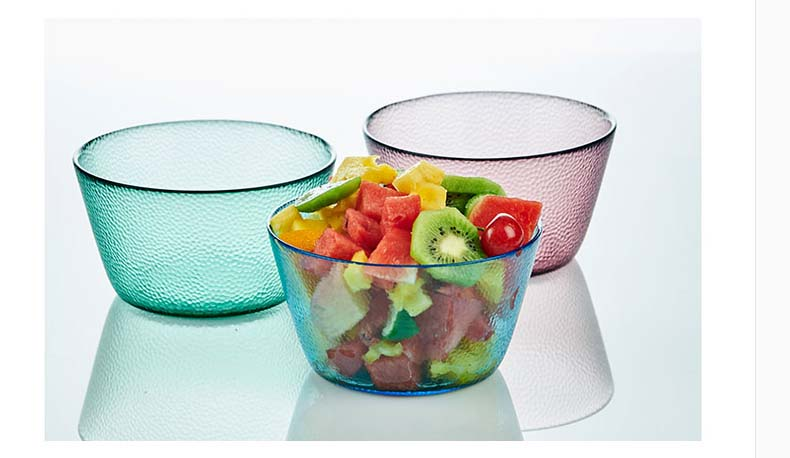 glass salad bowls