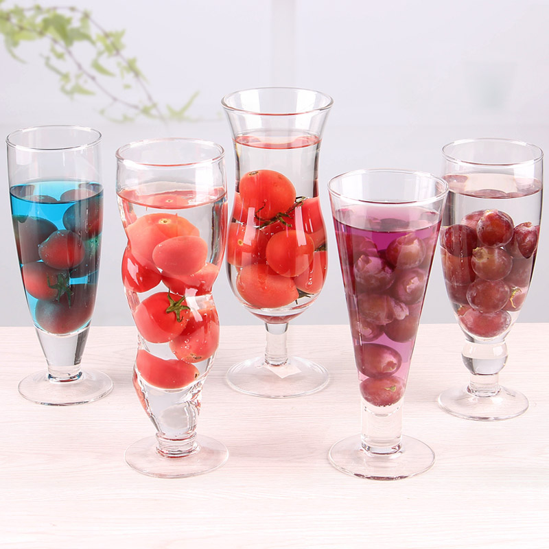 types of drink glasses