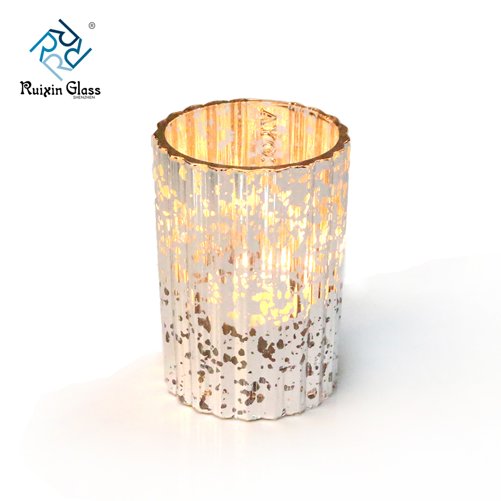 Wholesale glass pillar candle holders