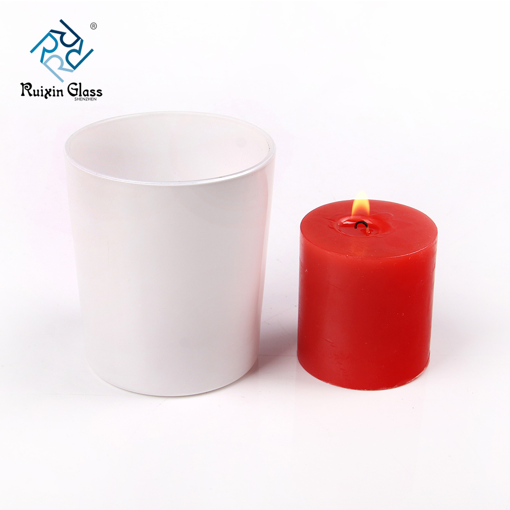 China white candle jars wholesale