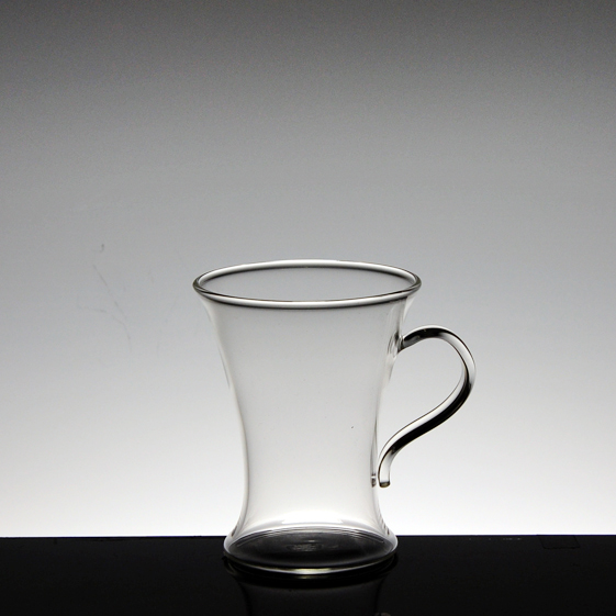 borosilicate glass tea cup