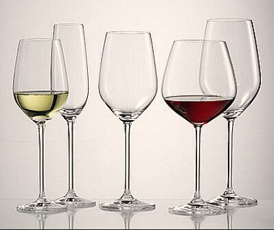 What are the stems of wine glasses for?