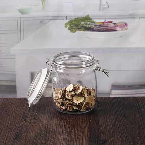 storage jars with Clip lids