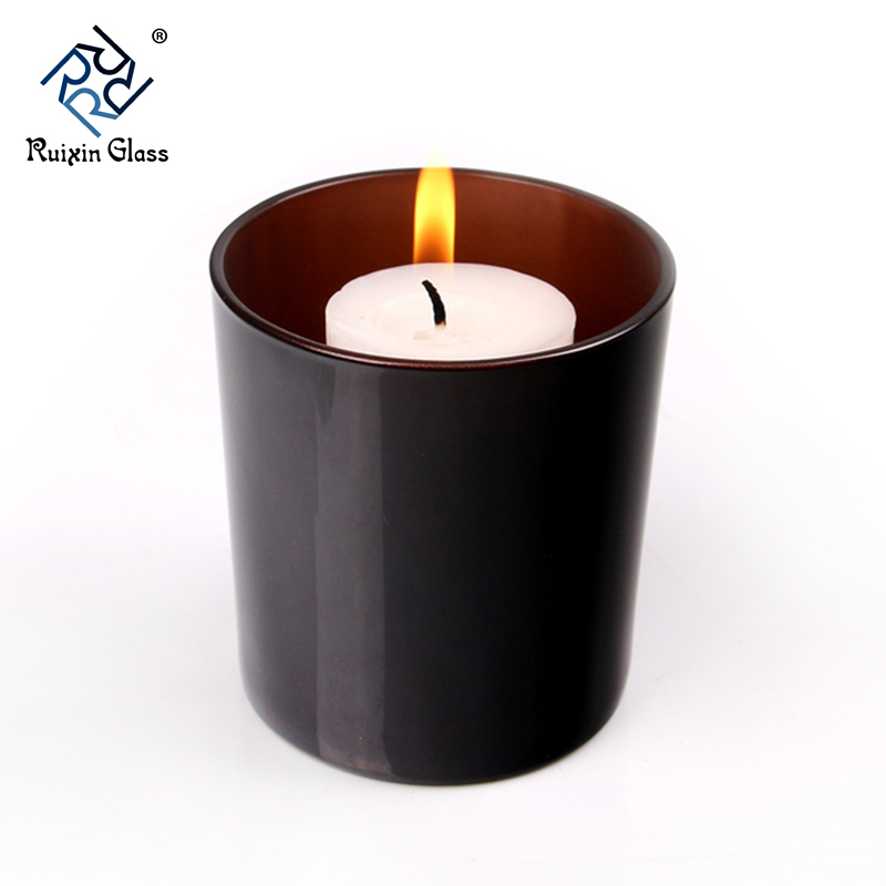 CD068 Eco Friendly Glass Candle holder Custom Candle Jar Supplier