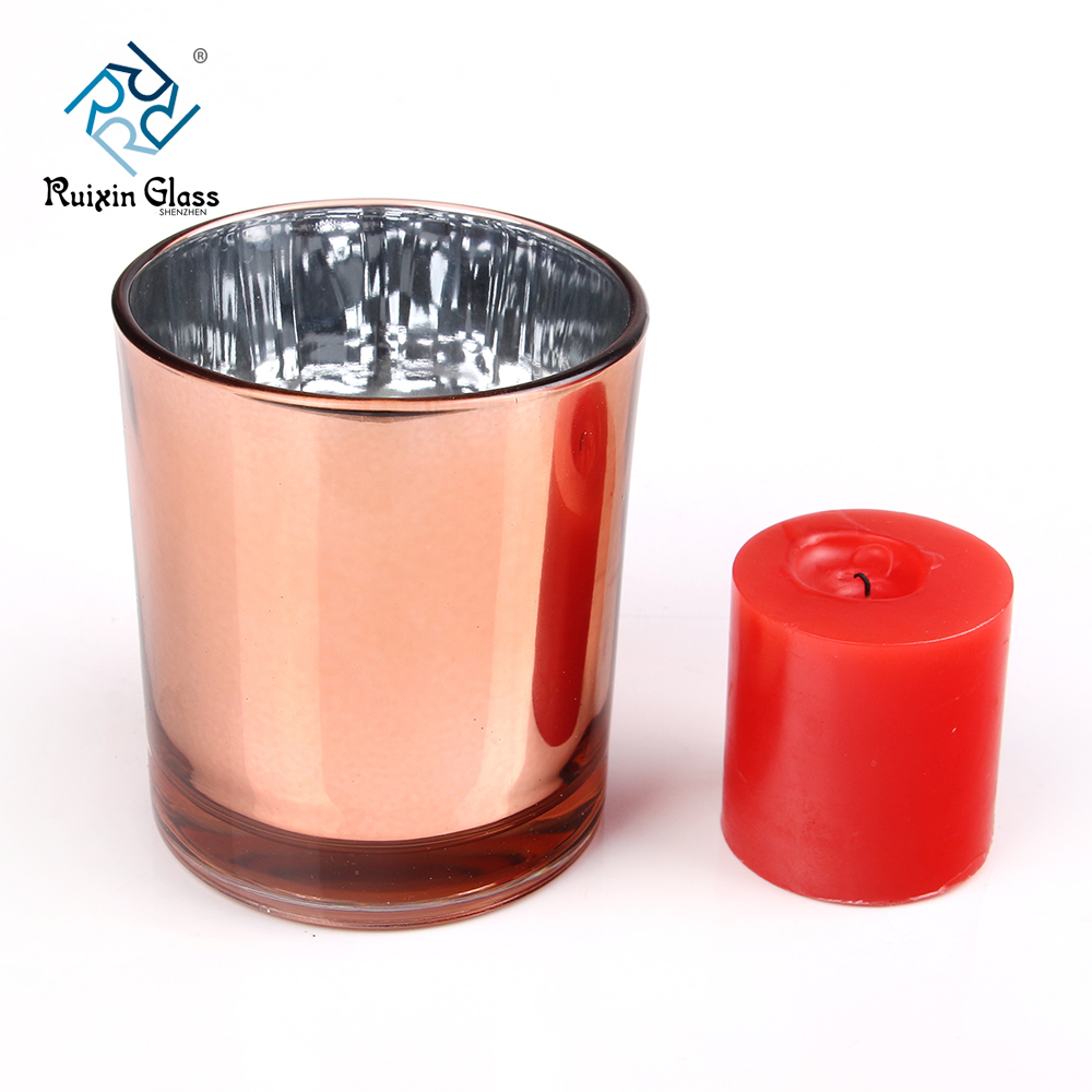 Metal Cylinder Candle Holder