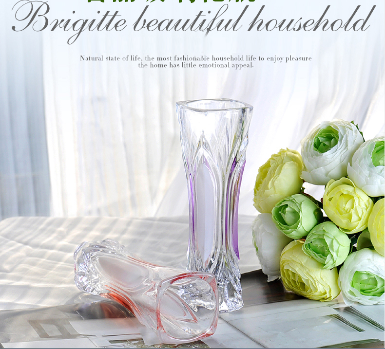 small glass flower vases