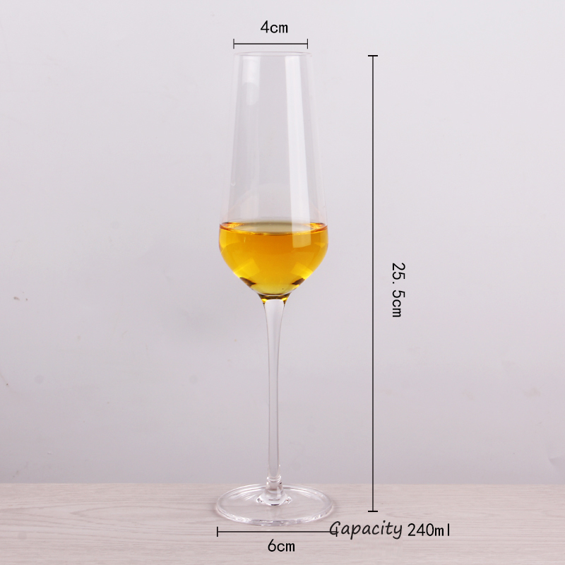 China Glass Cup Manufacturer Different Champagne Glasses