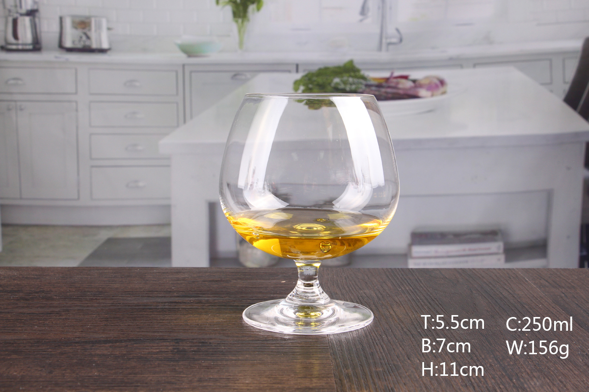 cut brandy glasses