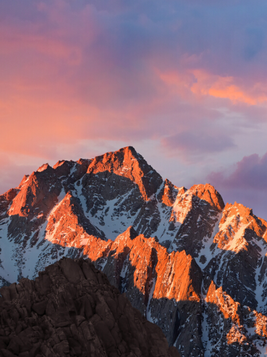 macOS Sierra new wallpaper