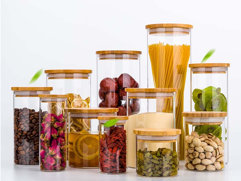 glass kitchen jars