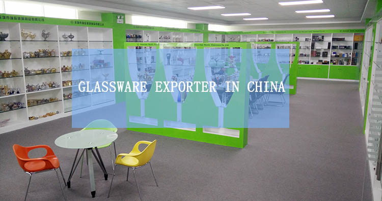 glassware exporter in china