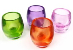 Glass Candle Containers