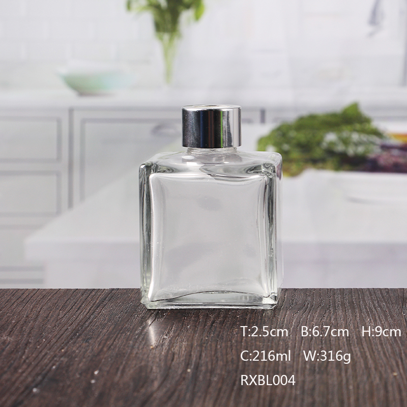 7 oz Square Glass Perfume Bottle