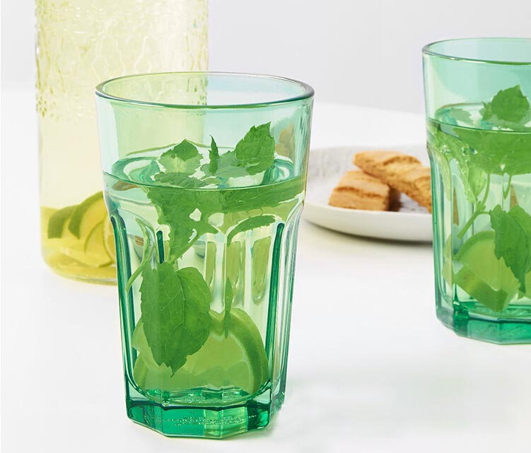 green glass cup wholesale