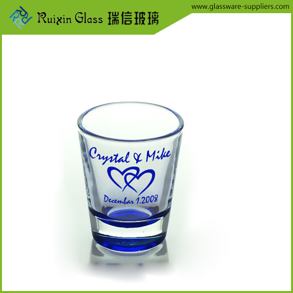 painted shot glass