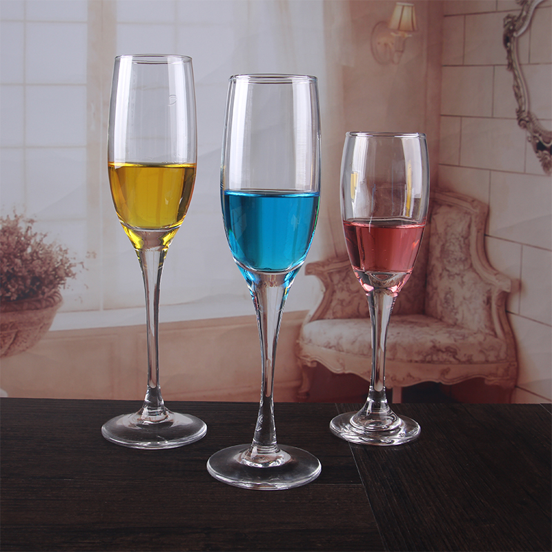 Champagne glasses crystal