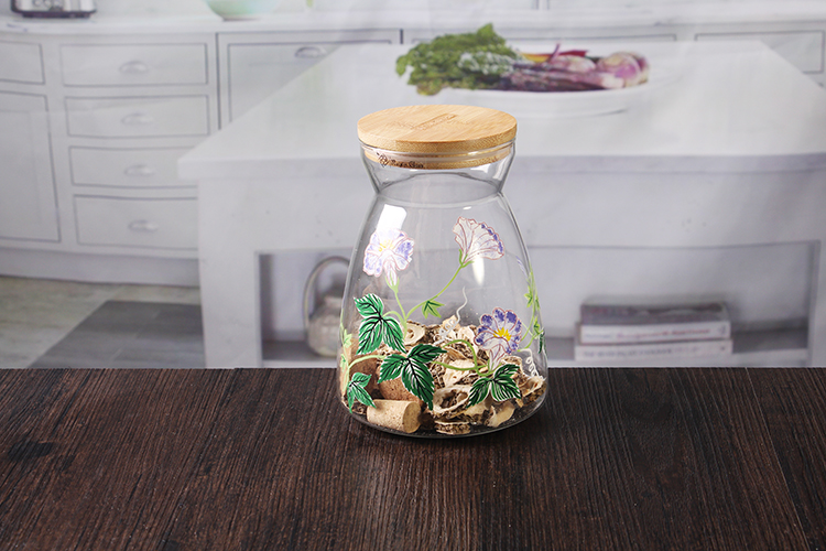 decal glass jars