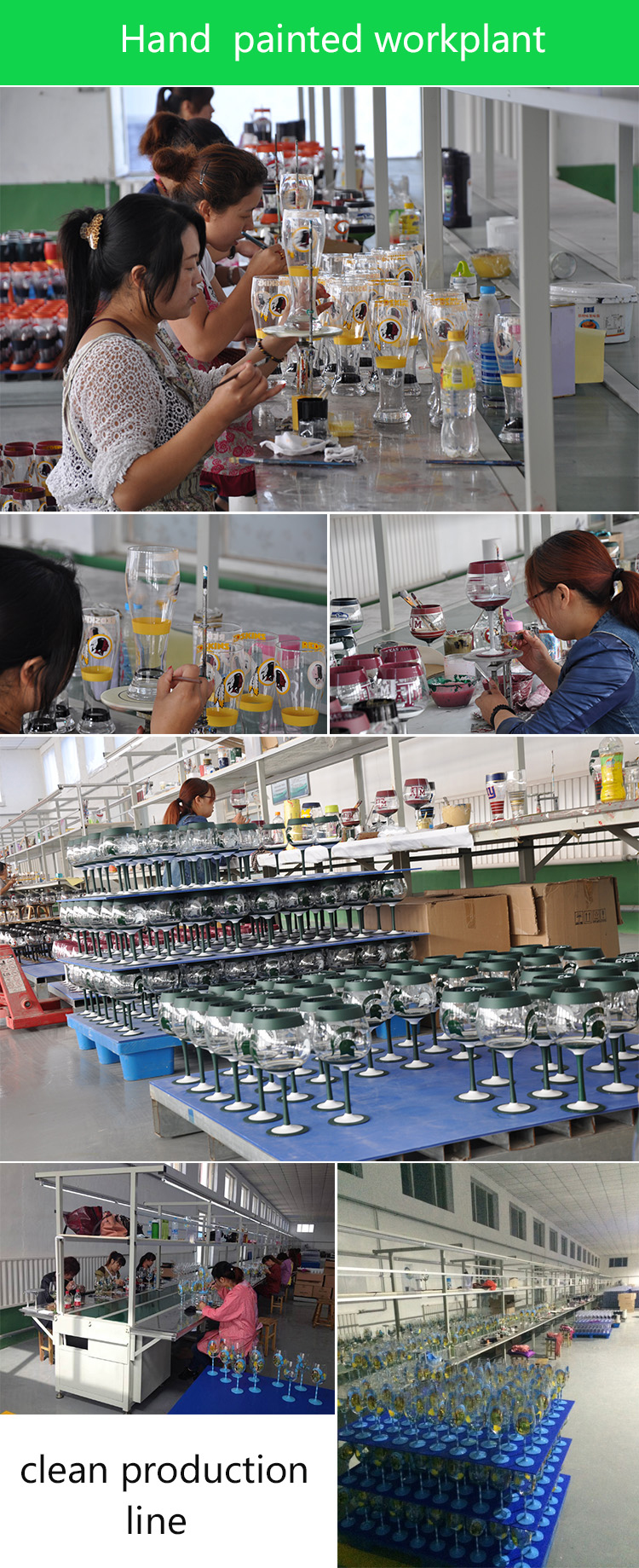 glassware suppliers,processing equipment,china production technology,hand painted workplant,Plating production process