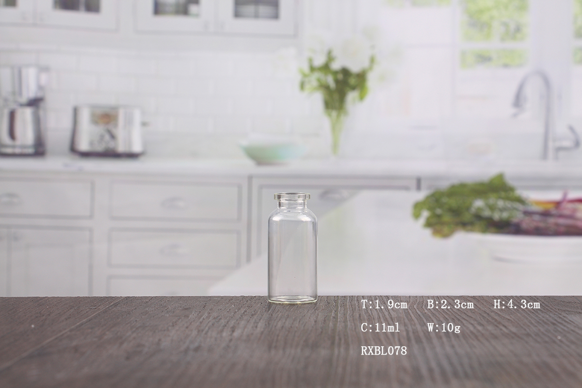 0.5 oz clear glass apothecary jars wholesale