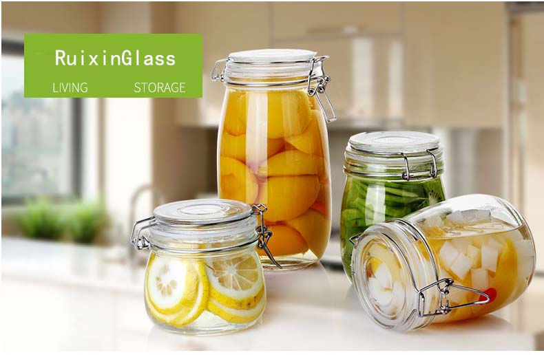 glass storage jars supplier