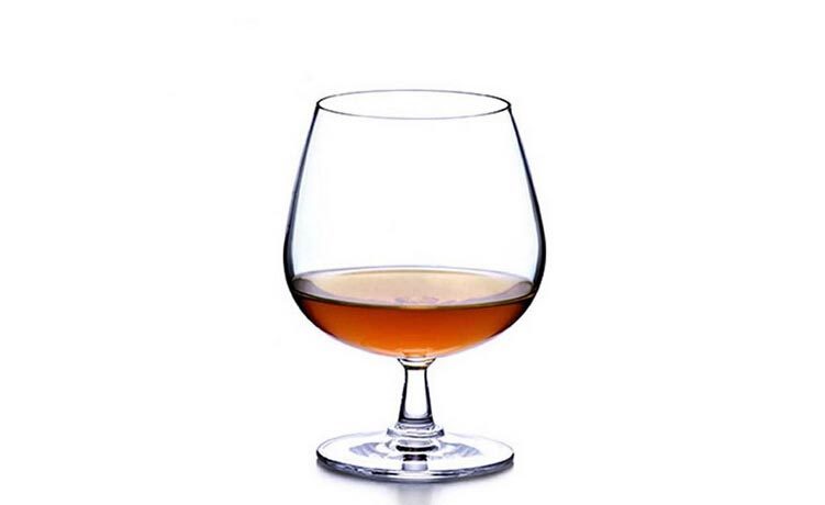 crystal brandy snifter glasses