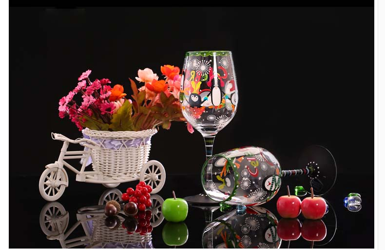 contemporary wine glasses