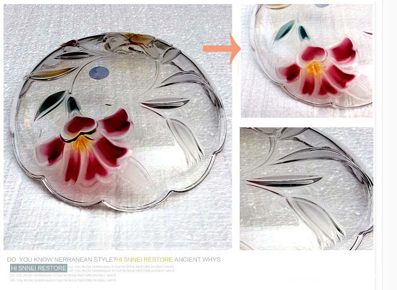 Creative fruit bowl fashion lead free crystal glass fruit bowl wholesale