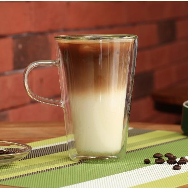 double glass coffee cups