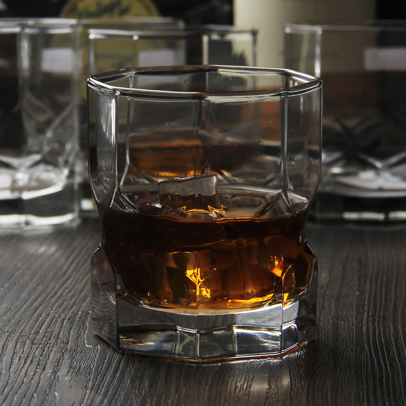 Personalised whiskey glass
