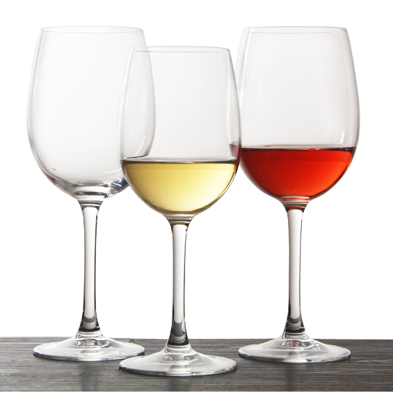 stemware wine glasses