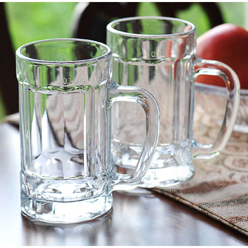 etched beer glasses