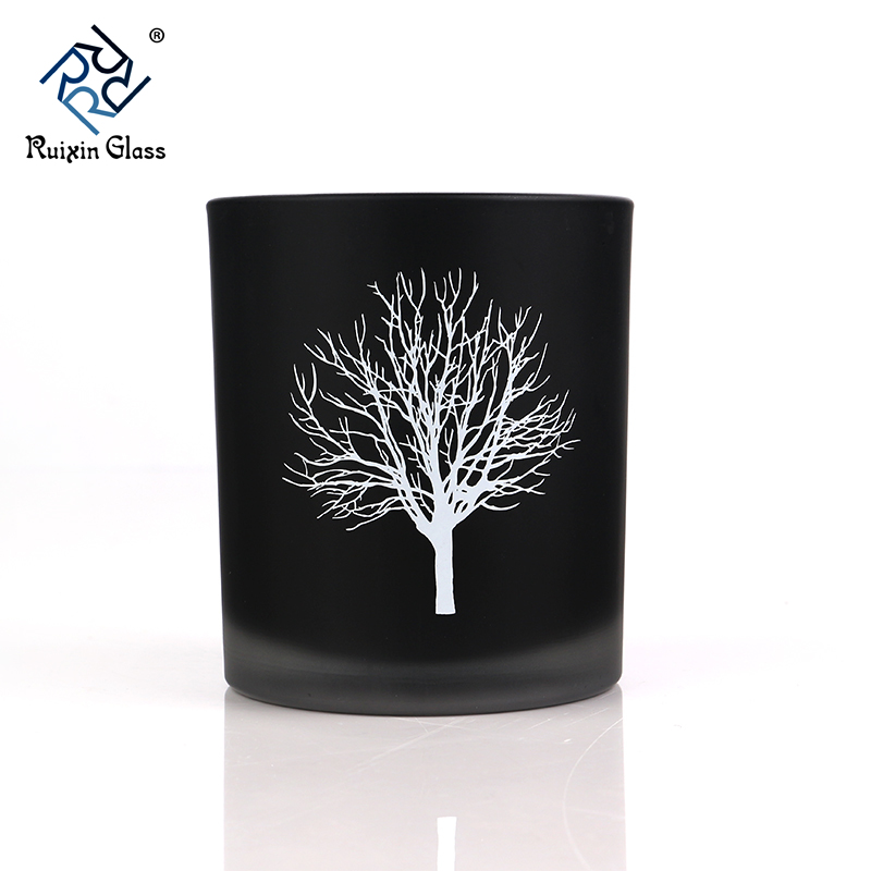 CD059 Black Candle Jars Wholesale Australia UK