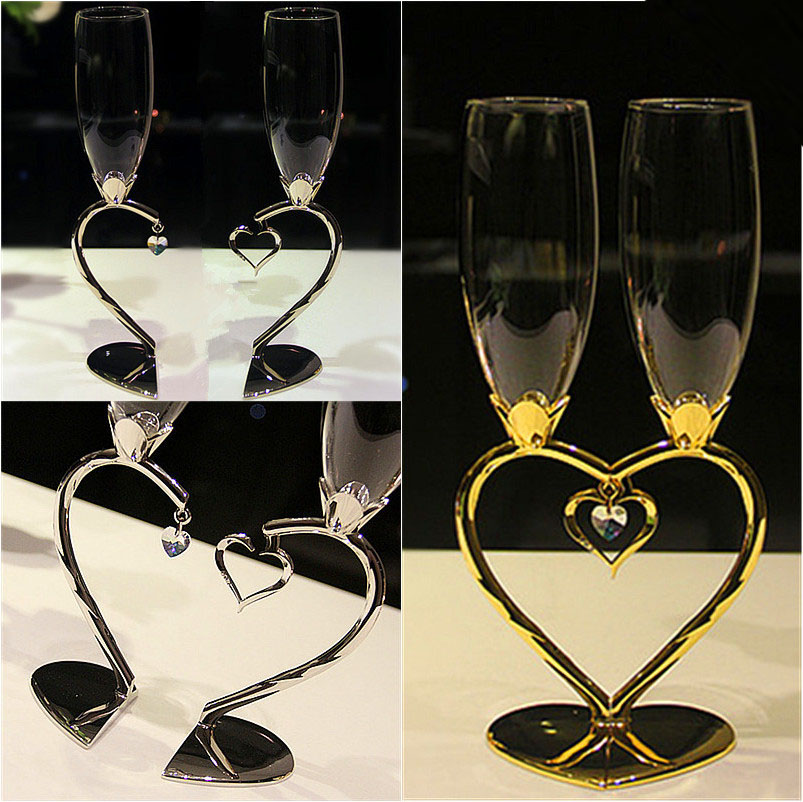 Wedding champagne glass sets