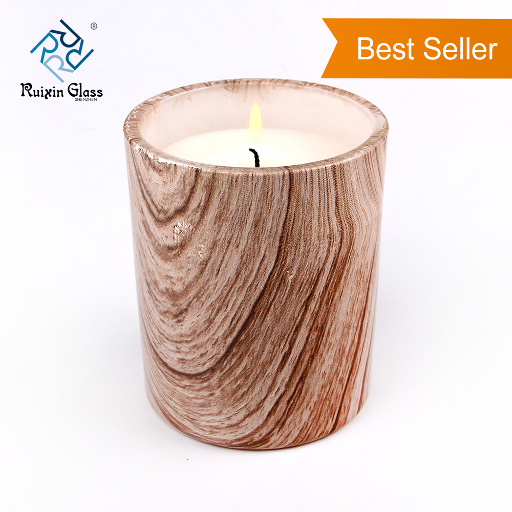 CD011 Hot Selling Cheap Price Customized Clear Wood Candle Holder Manufacturer From China