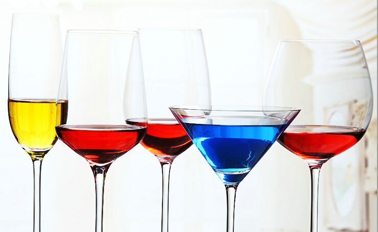 Lead-free crystal red wine glass factory hit the price of luck - [Ruixin glass]
