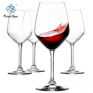 04 Hot Selling Cheap Price Customized Clear Wine Glass Set Manufacturer From China