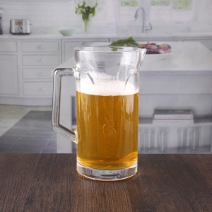 1.3 liters large capacity beer stein with handle suppliers