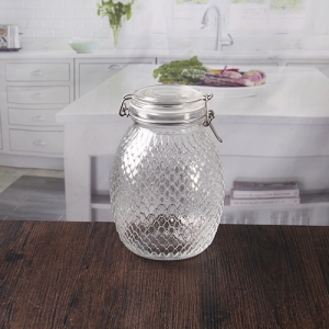 2 liters large glass jars for storage wholesale