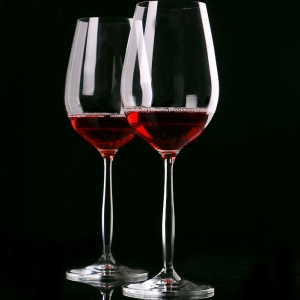 570ML high quality tall wine glasses wholesale