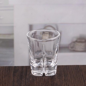 6 oz whiskey tasting glasses cross recessed bottom scotch whiskey glasses for sale