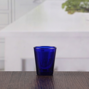 60ML cheap low price blue personalized shot glasses wholesale suppliers