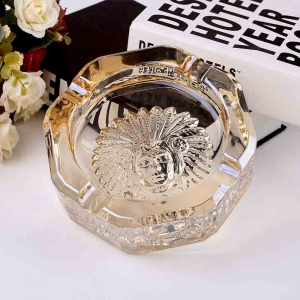 Brand new upscale glass cigar ashtray  supplier