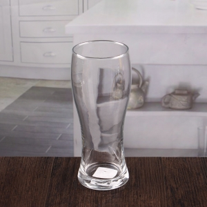 Bulk crystal beer glasses 16 oz glass beer mugs wholesale